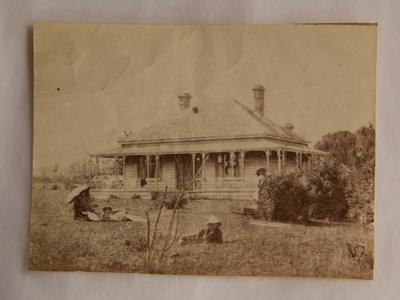 Photograph [Mr Miller's house at the Thames]