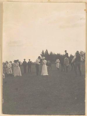 Photograph [Polo, Ruth and Harold Cotter]