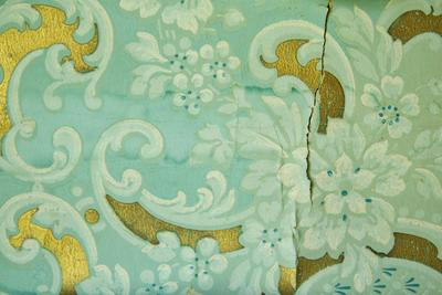 Wallpaper frieze fragment