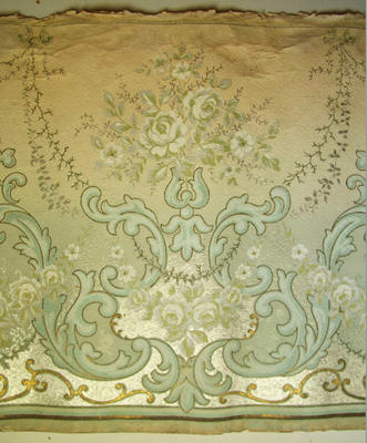 Wallpaper frieze roll
