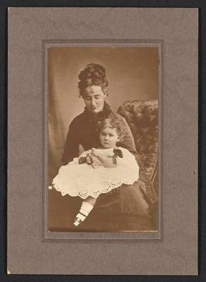 Photograph [Sophia Kerr Taylor and child]